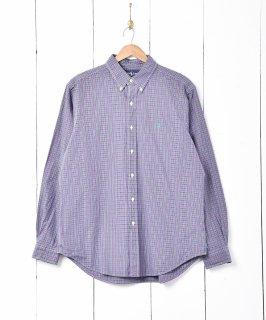 古着「Ralph Laauren」チェック柄 長袖シャツ 古着のネット通販 古着屋グレープフルーツムーン