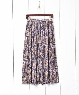 古着ペイズリー柄 フレアスカート 古着のネット通販 古着屋グレープフルーツムーン