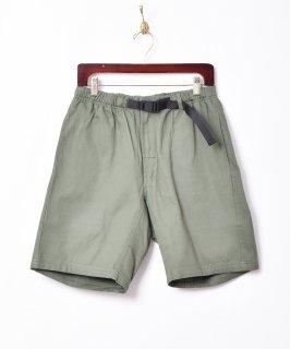 古着【5色展開】「Backers」バックル イージーショートパンツ グリーン 古着のネット通販 古着屋グレープフルーツムーン