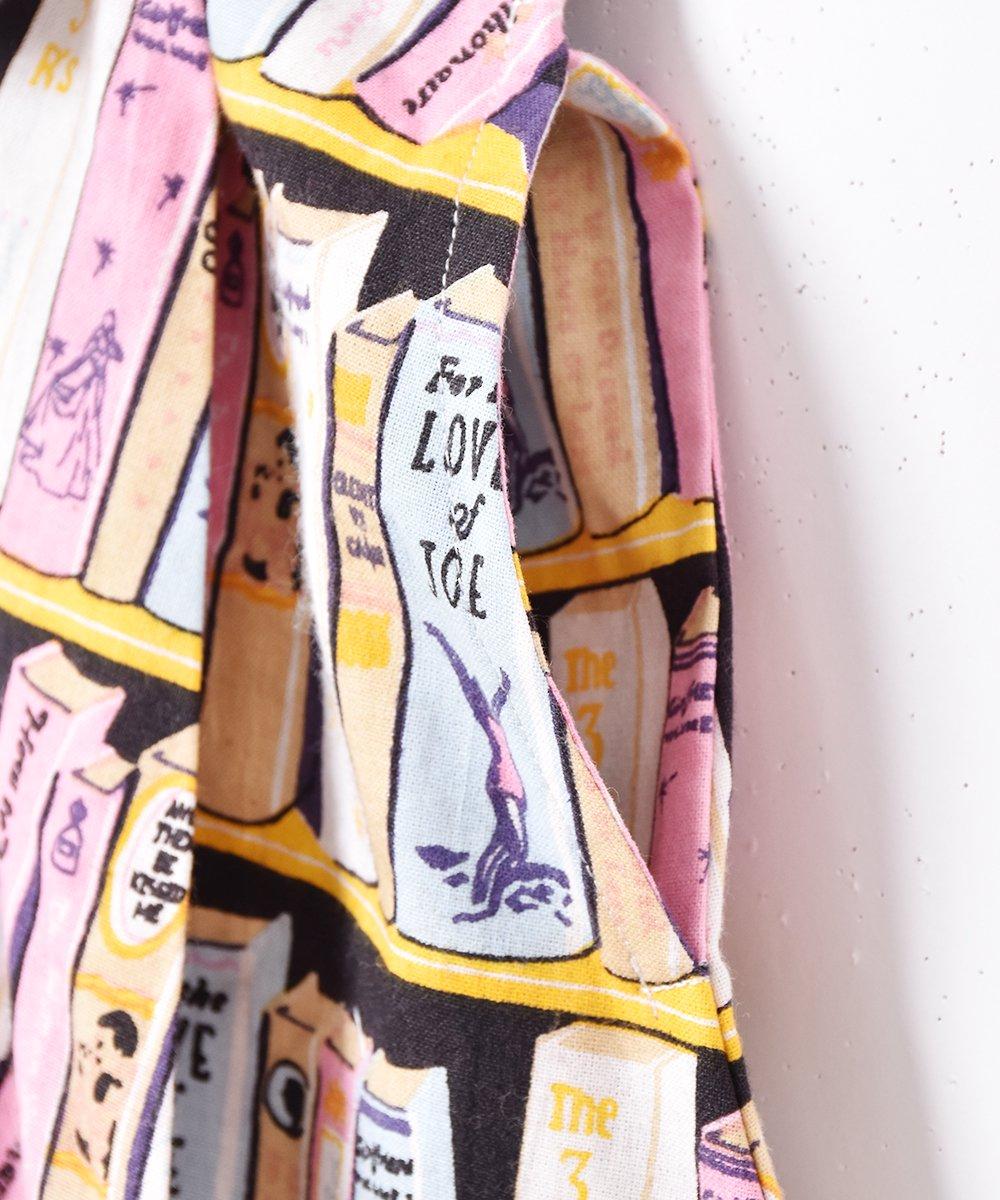 「Meridian」ブック 総柄 半袖 オープンカラーワンピースサムネイル
