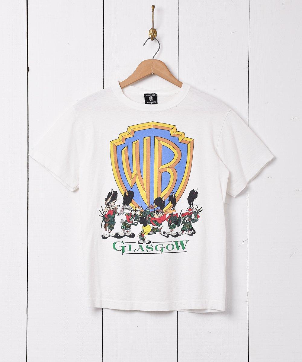 古着 アメリカ製 Warner Bros 「Looney Tunes」プリントTシャツ 古着 ネット 通販 古着屋グレープフルーツムーン