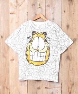 古着ガーフィールド 総柄 プリントTシャツ 古着のネット通販 古着屋グレープフルーツムーン