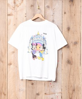 古着ディズニー 両面プリントTシャツ 古着のネット通販 古着屋グレープフルーツムーン
