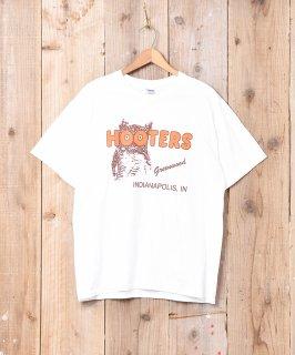 古着HOOTERS 両面プリントTシャツ 古着のネット通販 古着屋グレープフルーツムーン
