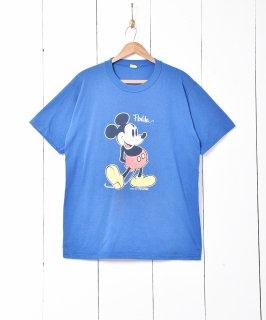 古着ミッキープリントシャツ 古着のネット通販 古着屋グレープフルーツムーン
