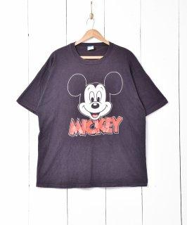 古着アメリカ製 80's ミッキープリントTシャツ 古着のネット通販 古着屋グレープフルーツムーン