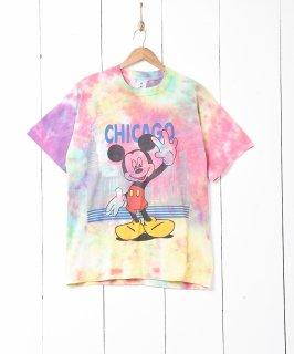 古着ミッキープリント タイダイTシャツ 古着のネット通販 古着屋グレープフルーツムーン