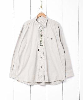古着エーデルワイス刺繍 チロルシャツ 古着のネット通販 古着屋グレープフルーツムーン