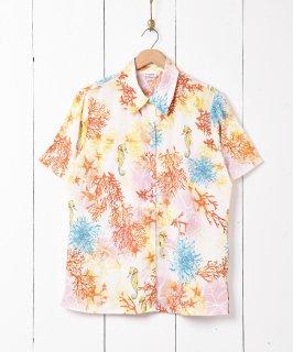 古着シーモチーフ 半袖シャツ 古着のネット通販 古着屋グレープフルーツムーン