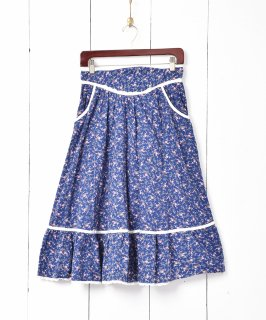古着70's Jessica's GUNNIES  ティアードフレアスカート 古着のネット通販 古着屋グレープフルーツムーン