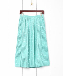 古着ドットプリーツスカート 古着のネット通販 古着屋グレープフルーツムーン