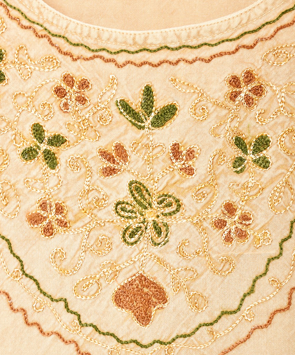 インド製 刺繍キャミソールサムネイル