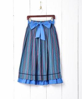 古着チェック柄 フレアスカート 古着のネット通販 古着屋グレープフルーツムーン