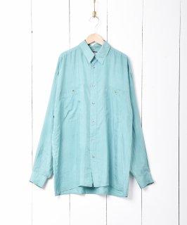 古着長袖シルクシャツ 古着のネット通販 古着屋グレープフルーツムーン
