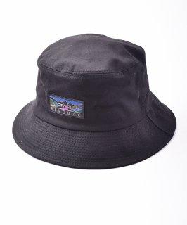 古着【4色展開】「BIVOUAC」バケットハット ブラック 古着のネット通販 古着屋グレープフルーツムーン