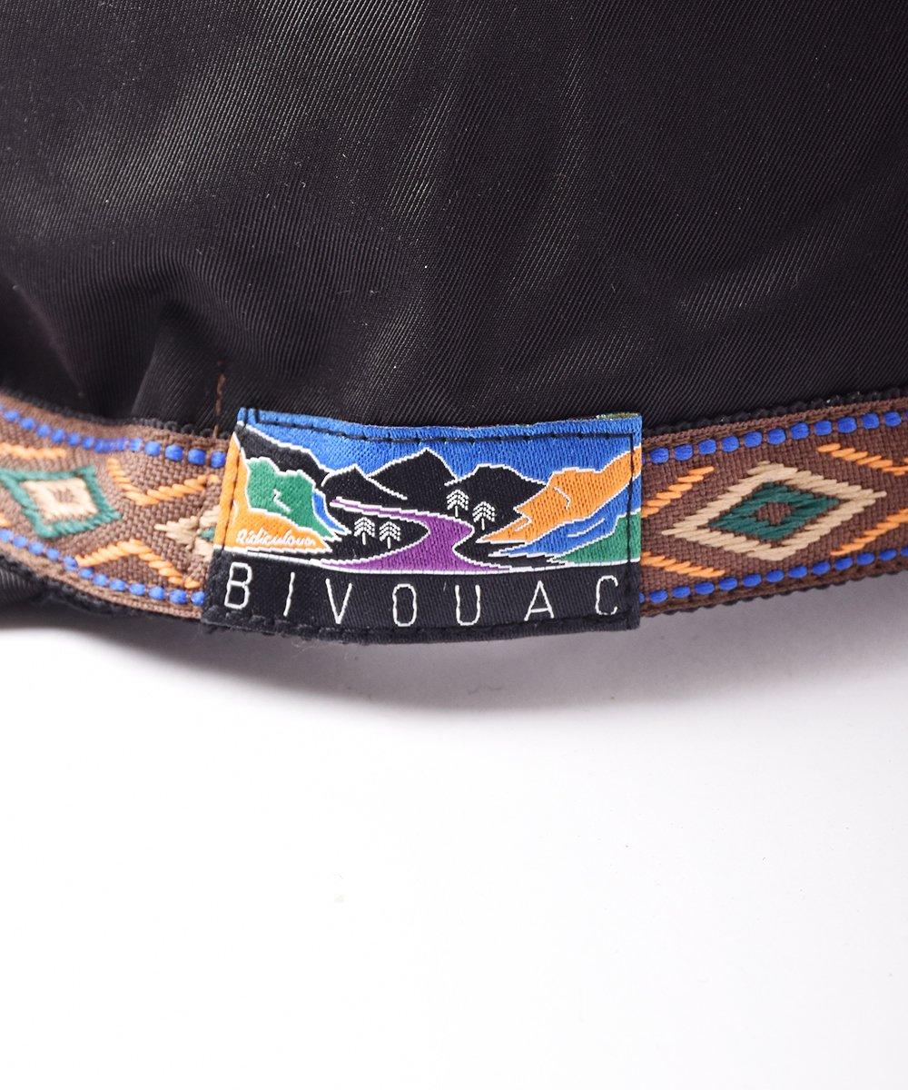 【2色展開】「BIVOUAC」アウトドアキャップ ブラックサムネイル