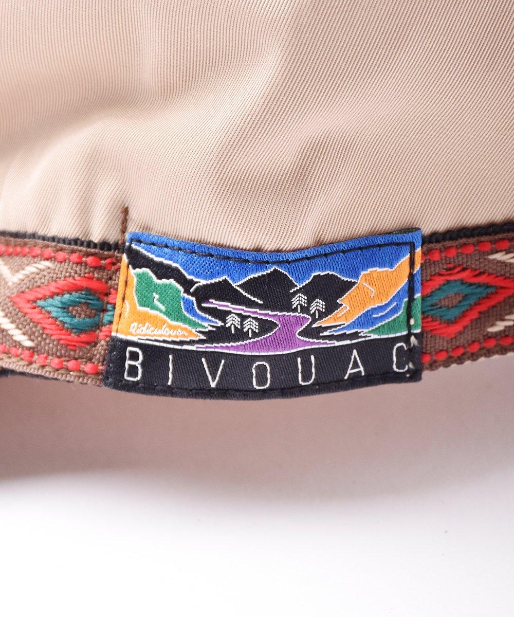 【2色展開】「BIVOUAC」アウトドアキャップ ベージュサムネイル