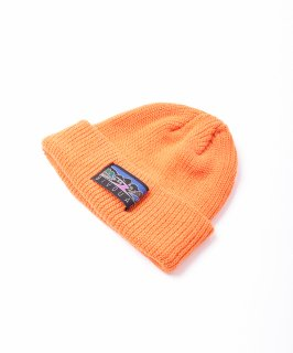 古着【4色展開】「BIVOUAC」コットンニットキャップ オレンジ 古着のネット通販 古着屋グレープフルーツムーン