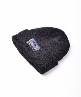 古着【4色展開】「BIVOUAC」コットンニットキャップ ブラック 古着のネット通販 古着屋グレープフルーツムーン