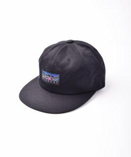 古着【2色展開】「BIVOUAC」ロゴ入り プレーンキャップ ブラック 古着のネット通販 古着屋グレープフルーツムーン