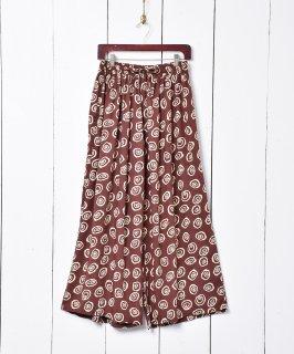 古着総柄 イージーワイドパンツ 古着のネット通販 古着屋グレープフルーツムーン