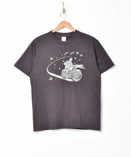 古着【2色展開】「Backers」バイクスター 両面プリントTシャツ ブラック 古着のネット通販 古着屋グレープフルーツムーン