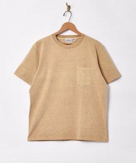古着【5色展開】「TEMPTATION」ポケットTシャツ ベージュ 古着のネット通販 古着屋グレープフルーツムーン