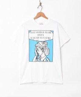 古着「Backers」ガールクライ プリントTシャツ 古着のネット通販 古着屋グレープフルーツムーン
