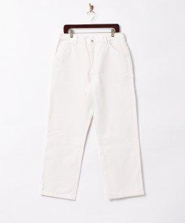 古着【2色展開】「Backers」ダック地 ペインターパンツ ホワイト 古着のネット通販 古着屋グレープフルーツムーン