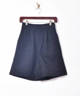 古着【2色展開】「Elcamino」タックショートパンツ ブラック 古着のネット通販 古着屋グレープフルーツムーン