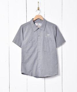 古着半袖チェックワークシャツ 古着のネット通販 古着屋グレープフルーツムーン