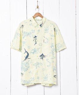 古着Columbia PFG 総柄フィッシングシャツ 古着のネット通販 古着屋グレープフルーツムーン
