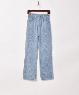 古着【2色展開】「Elcamino」デザインデニムパンツ W26 ブルー 古着のネット通販 古着屋グレープフルーツムーン