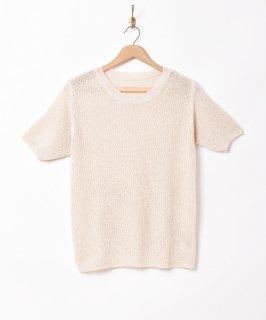 古着「Meridian」半袖 メッシュニットトップス 古着のネット通販 古着屋グレープフルーツムーン