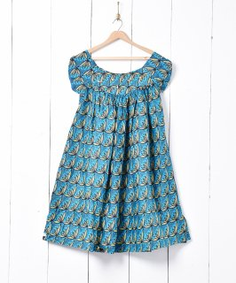 古着アフリカンバティック 2wayスリーブレスドレス 古着のネット通販 古着屋グレープフルーツムーン