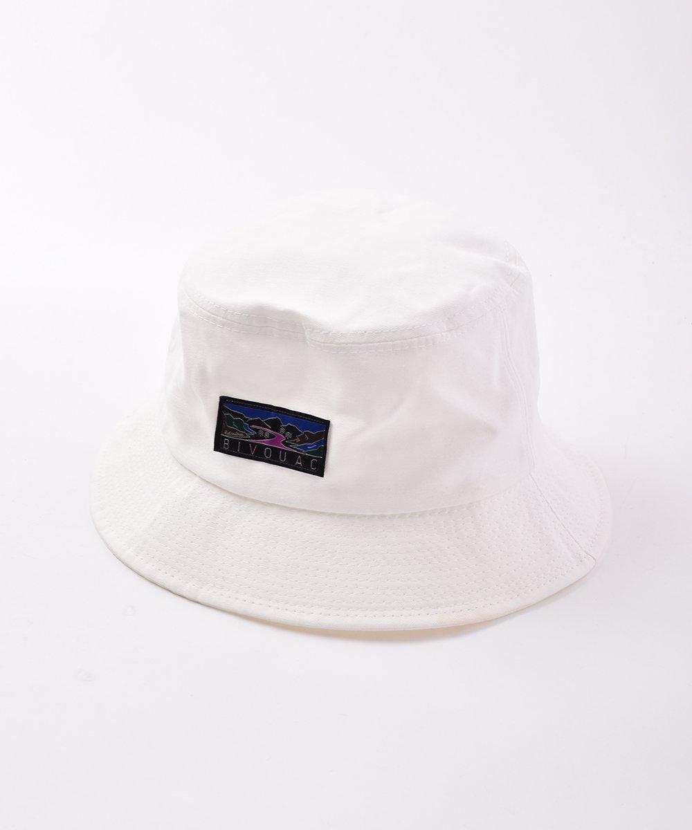 古着 【4色展開】「BIVOUAC」バケットハット ホワイト 古着 ネット 通販 古着屋グレープフルーツムーン