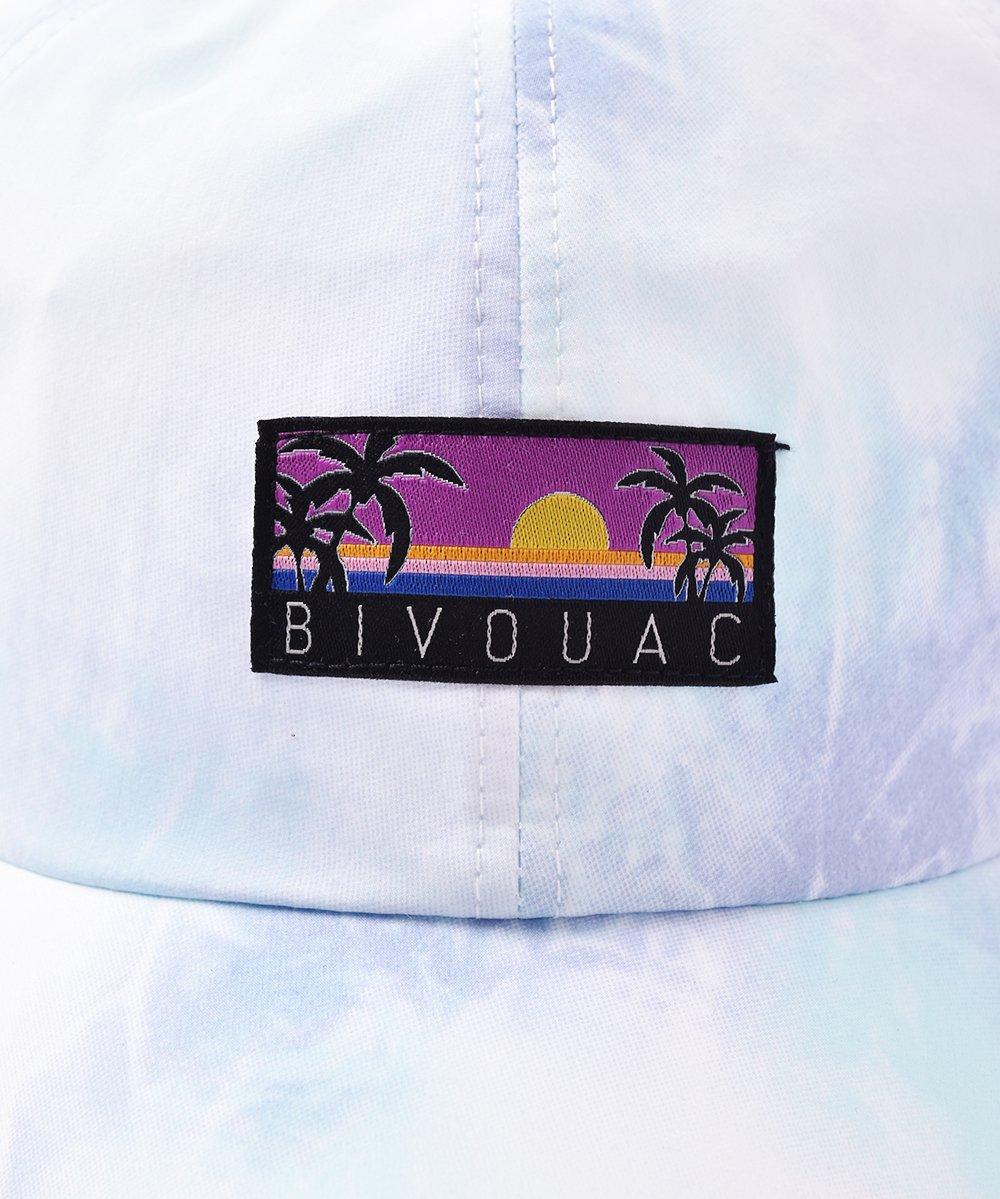 【2色展開】「BIVOUAC」タイダイキャップ ブルーサムネイル