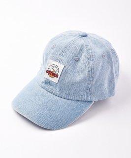 古着【2色展開】「BIVOUAC」デニムキャップ ブルー 古着のネット通販 古着屋グレープフルーツムーン