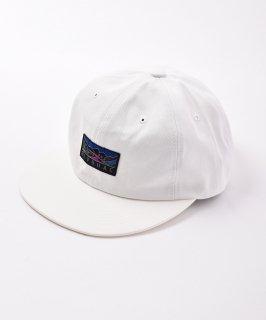 古着【3色展開】「BIVOUAC」ロゴ入り プレーンキャップ ホワイト 古着のネット通販 古着屋グレープフルーツムーン