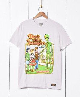 古着STEVEN RHODES イラストプリントTシャツ 古着のネット通販 古着屋グレープフルーツムーン