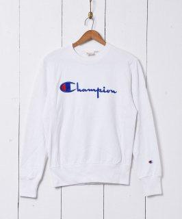 古着Champion ロゴ刺繍 リバースウィーブ 古着のネット通販 古着屋グレープフルーツムーン