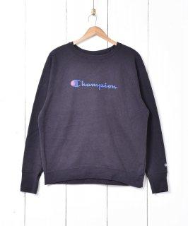 古着Champion ロゴプリント ガゼットスウェット 古着のネット通販 古着屋グレープフルーツムーン