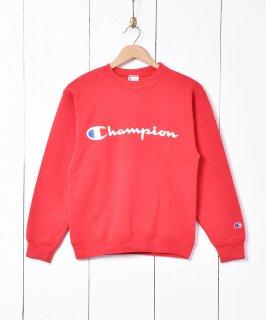 古着Champion ロゴプリント スウェット 古着のネット通販 古着屋グレープフルーツムーン