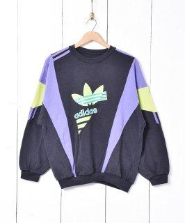 古着adidas デザインスウェット 古着のネット通販 古着屋グレープフルーツムーン