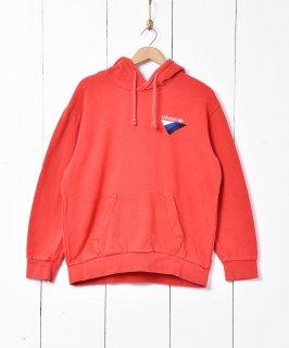 古着adidas ロゴ刺繍 スウェットパーカー 古着のネット通販 古着屋グレープフルーツムーン