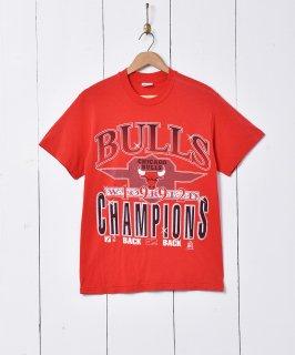 古着アメリカ製 CHICAGO BULLS プリントTシャツ 古着のネット通販 古着屋グレープフルーツムーン