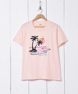 古着ヤシの木 プリントTシャツ 古着のネット通販 古着屋グレープフルーツムーン