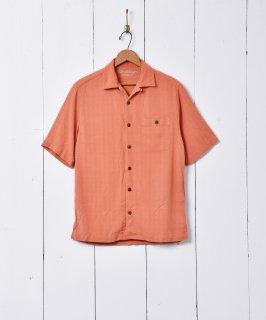 古着オープンカラー 半袖シャツ 古着のネット通販 古着屋グレープフルーツムーン