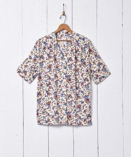 古着小花柄 半袖トップス 古着のネット通販 古着屋グレープフルーツムーン