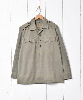 古着ブルガリア軍 プルオーバーシャツ 古着のネット通販 古着屋グレープフルーツムーン